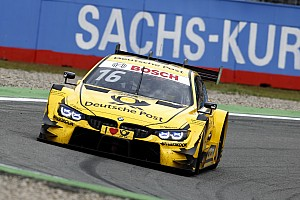 DTM Qualifying report Hockenheim DTM: Glock prevails in damp Sunday qualifying