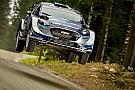 WRC Тянак захватил лидерство в Ралли Финляндия
