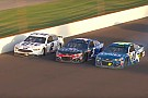 NASCAR Cup Johnson wrecks out of Brickyard 400 in three-wide battle for the win