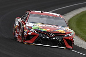NASCAR Cup Qualifying report Kyle Busch takes Brickyard 400 pole over Kevin Harvick