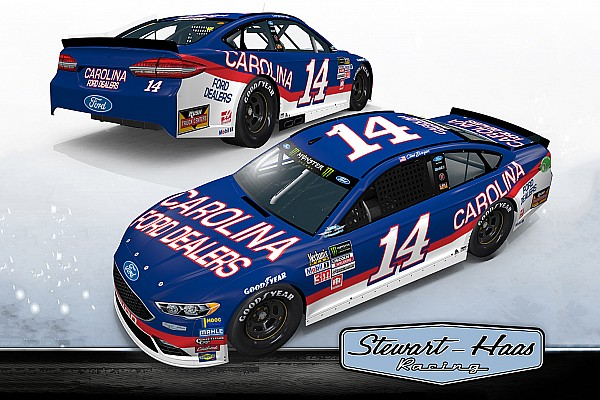 Bowyer pays tribute to Mark Martin with Southern 500 throwback scheme