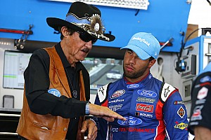 NASCAR Cup Interview Almirola: Wallace can't afford to