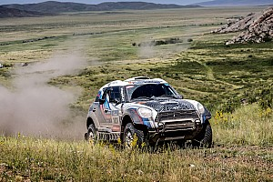 Cross-Country Rally Stage report Silk Way Rally: Successful half-time balance for the MINI ALL4 Racing