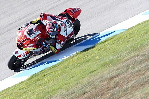 Moto2スペイン決勝:ディ・ギャナントニオが逃げ切って嬉しい初優勝。小椋藍7位でフィニッシュ