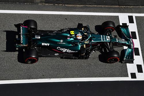 Vettel 'lacking pace to fight for points' in Aston Martin F1 car