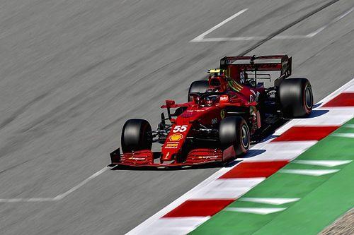 En Ferrari preocupa la degradación de los neumáticos, dice Sainz