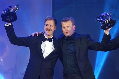 Raikkonen stars at FIA Awards, as Hamilton is crowned