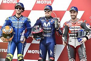 Стартова решітка MotoGP Гран Прі Валенсії
