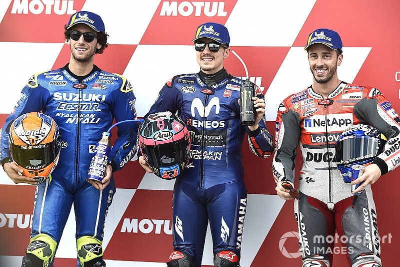 Starting grid MotoGP Valencia 2018