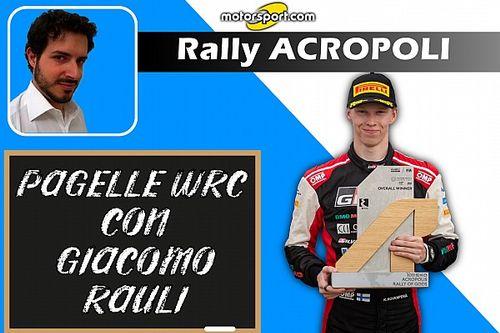 Pagelle WRC: In Grecia Rovanpera perfetto, Hyundai per...niente