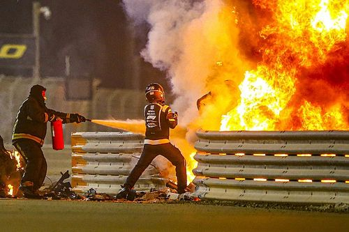 FIA reveals cause of Grosjean's Bahrain fireball in crash report