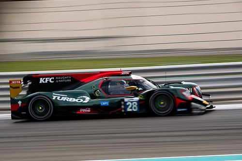 Sean Gelael-Blomqvist Sapu Bersih Dua Race Abu Dhabi