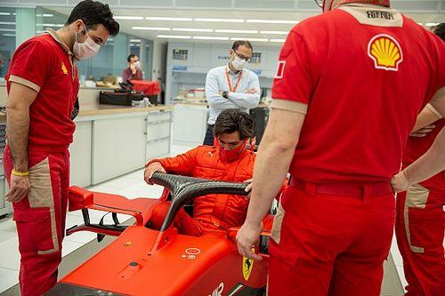 Sainz no se creyó la oferta de Ferrari al principio