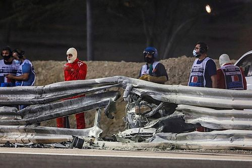 Masi: Guardrail damage was inevitable in Grosjean crash