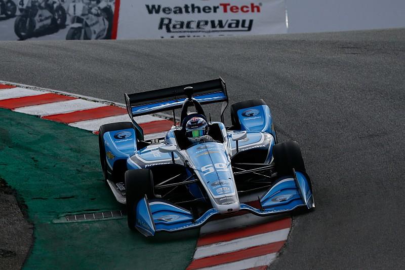 IndyCar-Test Laguna Seca: Max Chilton mit Bestzeit