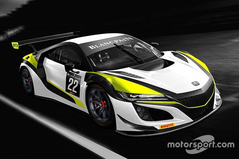 Button lends name to new Honda Blancpain effort