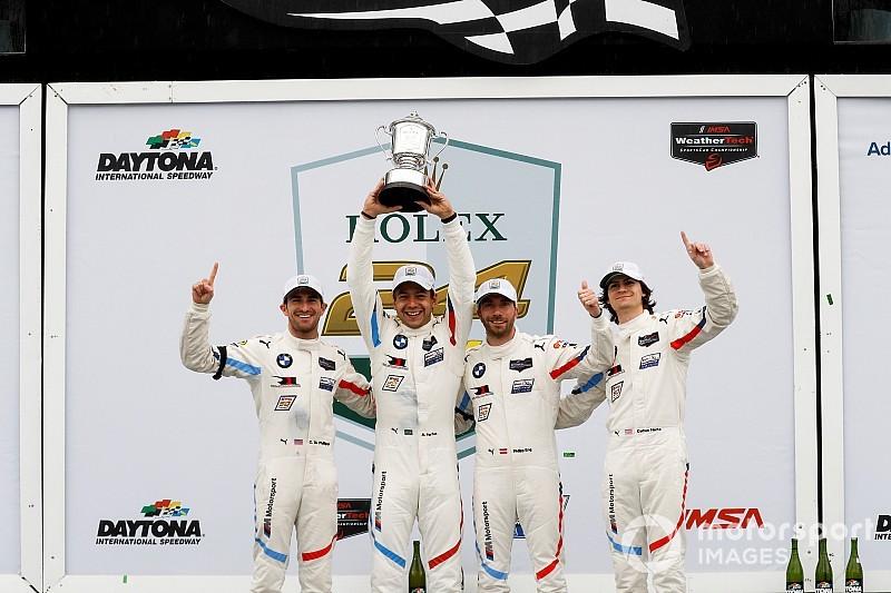 BMW draagt zege in Daytona op aan Charly Lamm