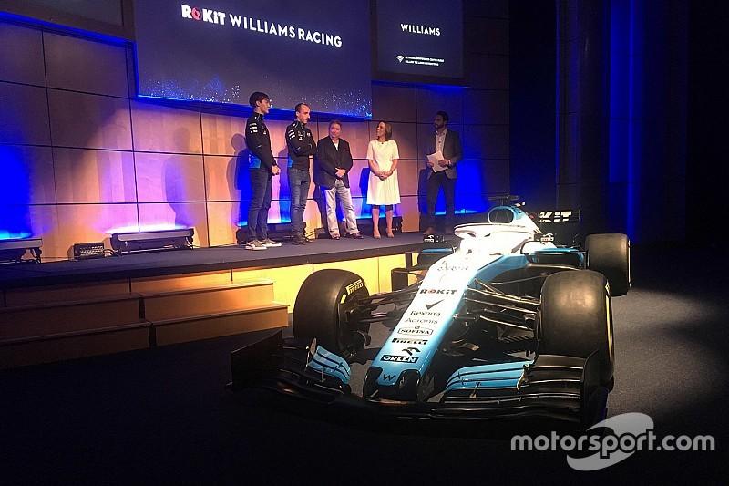 Williams cancela dia de filmagens com novo carro