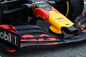 Red Bull no se muestra alarmado por el alerón delantero radical de Ferrari