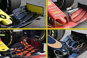 Galería: así han adaptado los equipos de F1 sus alerones delanteros y