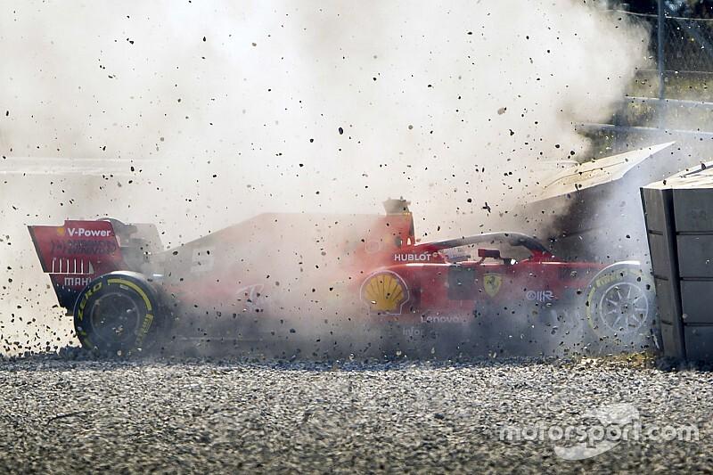Ferrari seguirá investigando el accidente de Vettel