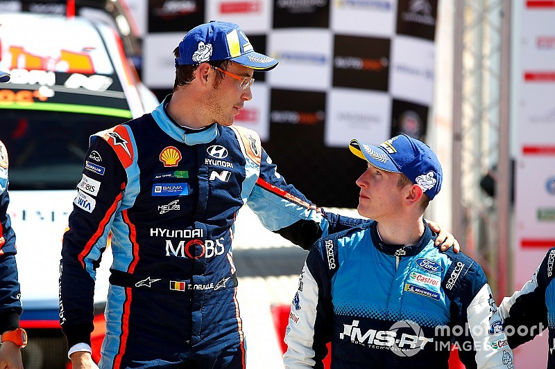 """Neuville: Evans """"maybe more deserving"""" of Corsica win"""
