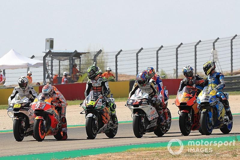 Moto3-Verhältnisse in der MotoGP: Vinales und Morbidelli bestraft