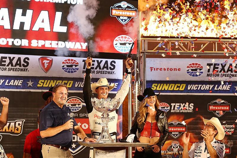Рейхол выиграл гонку в Техасе
