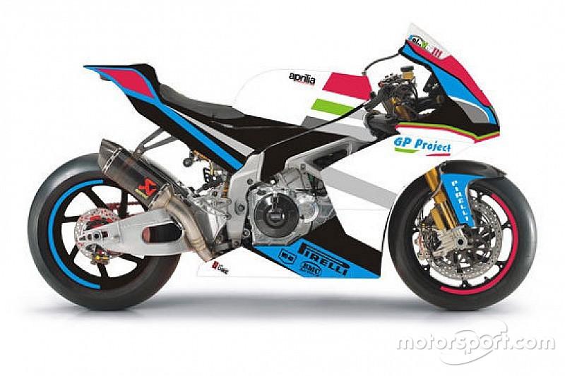 Un'Aprilia per Luca Salvadori ed il Team GP Project