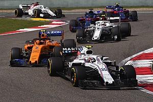 Williams, hızlı bir ilerleme kaydetmeyi umuyor