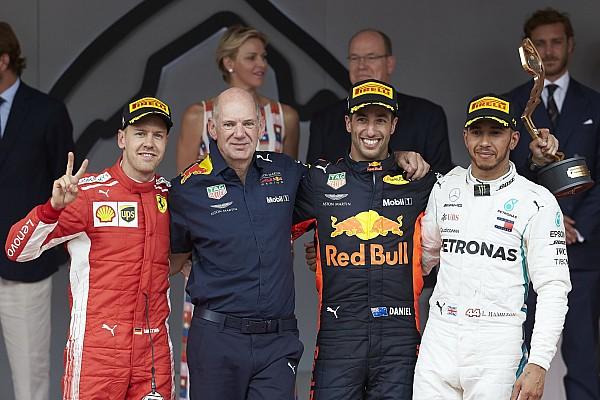 F1 比赛报告 摩纳哥大奖赛:里卡多克服赛车问题夺冠