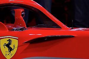 Érdekes másodlagos funkcióval bír a Ferrari SF71H visszapillantója
