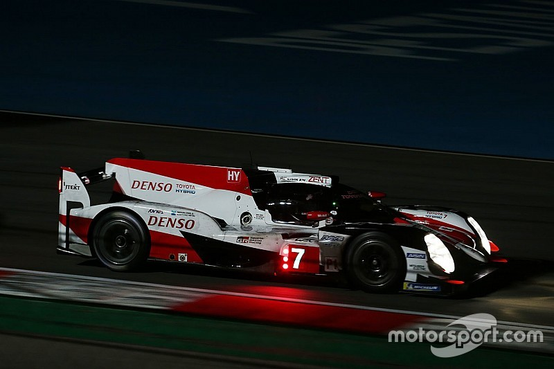 Three-wheel test part of Toyota Le Mans preparation
