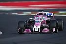Formule 1 Perez hoopt Force India in 2018 naar podium te brengen