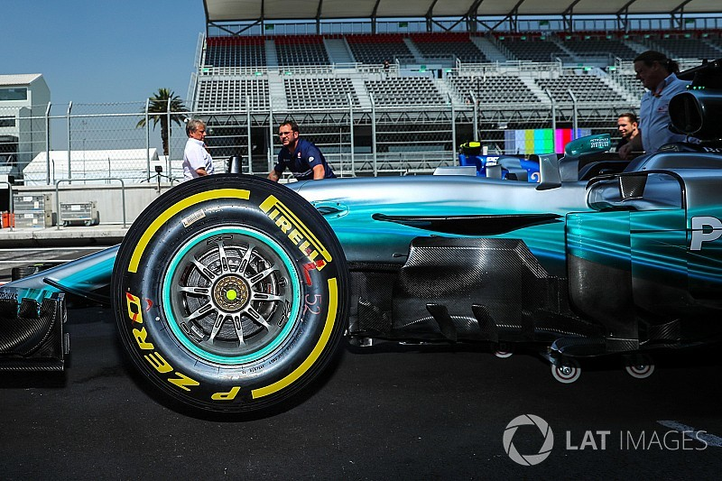 Pirelli протестирует шины 2019 года на восьми трассах