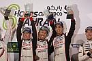 WECバーレーン決勝:8号車トヨタ圧勝。トヨタ勝ち星でポルシェ越え