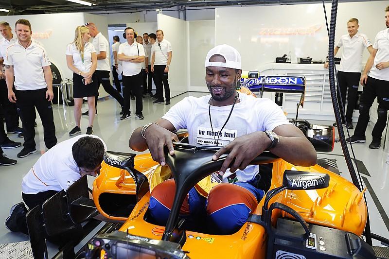 Serge Ibaka Vs. Fernando Alonso: 2 méter 8 centi
