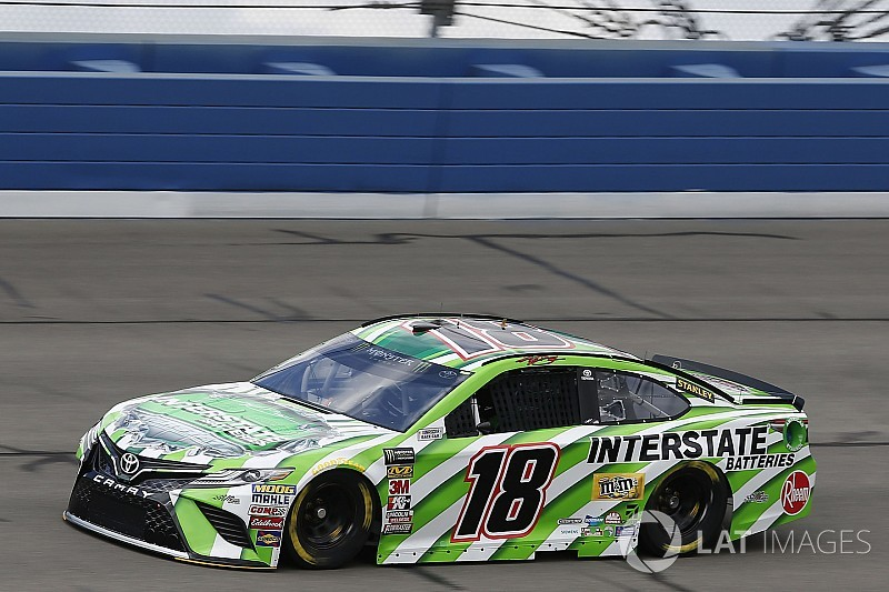 Kyle Busch tops final practice at Fontana