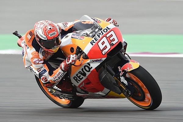 MotoGP in Katar: Marc Marquez fährt im Warm-up Bestzeit