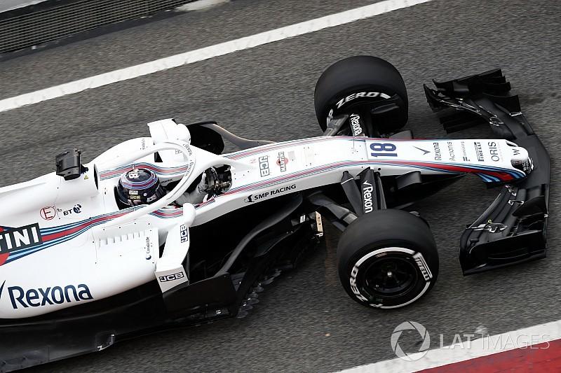 Stroll fica satisfeito com primeiras voltas no novo Williams