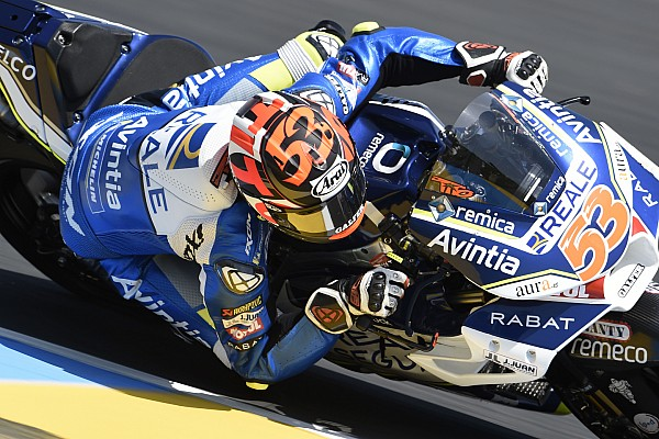 MotoGP Actualités Violente chute pour Rabat au test de Barcelone