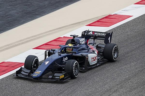 FIA F2 Gara Markelov senza rivali si impone nella Sprint Race in Bahrain
