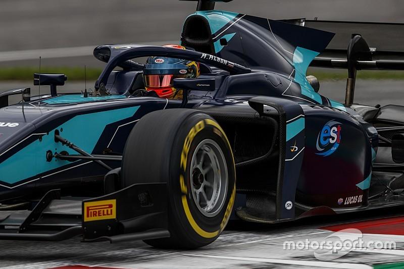El nuevo piloto de Toro Rosso, Alexander Albon tuvo que