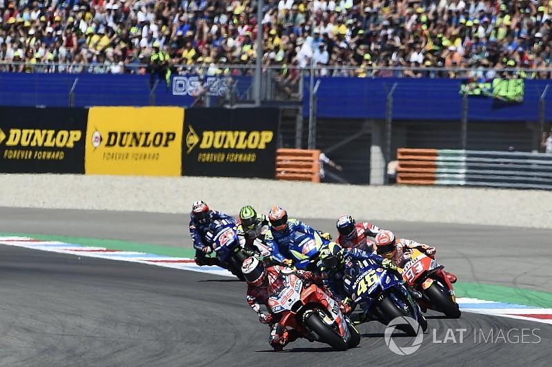Lorenzo: Rossi temasından sonra kimse çarpmadığı için şanslıydım