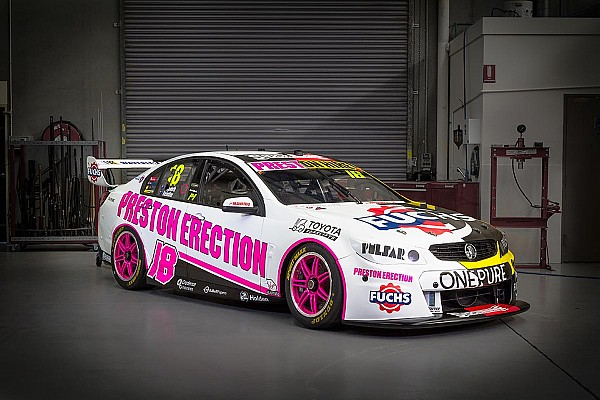 Team 18 unveils split retro livery for Sandown