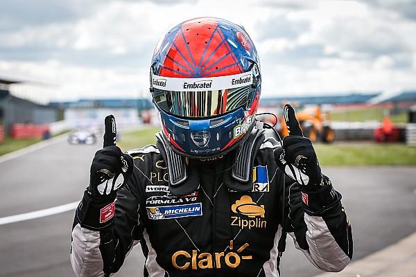 Formula V8 3.5 Fittipaldi column: Taking Silverstone by storm