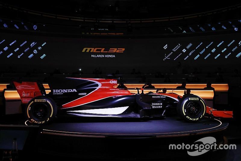 迈凯伦MCL32以橙黑相间涂装惊艳登场