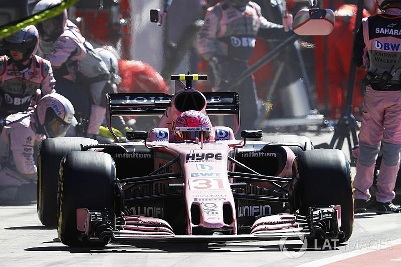 Toujours pas d'évolution Mercedes chez Force India