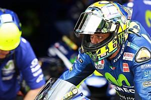 """MotoGP Nieuws Rossi: """"Moeilijke"""" uitgangspositie door bandenprobleem"""