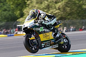 Moto2 Qualifiche Thomas Luthi batte Bagnaia di un soffio ed è in pole a Le Mans